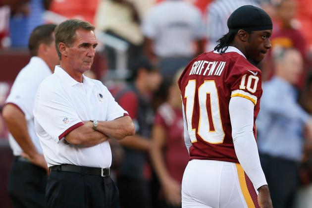 NFL Playoffs: Shanahan Foolish for Keeping Robert Griffin III in Wild Card Game