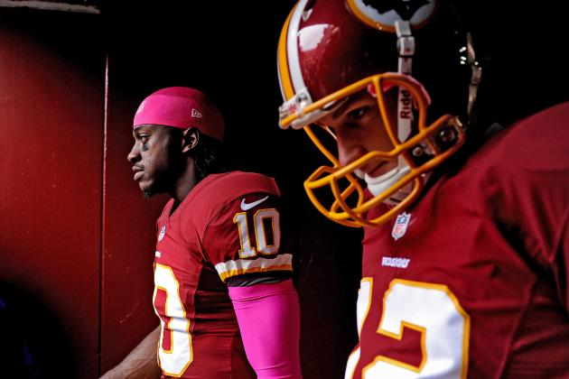 Robert Griffin III: Injury Issues Have Made Kirk Cousins Invaluable