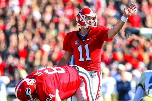 Georgia Bulldogs QB Aaron Murray Announces Return for Senior Season