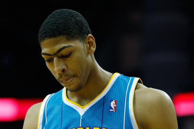 Is Anthony Davis the Most Disappointing NBA Rookie This Season?