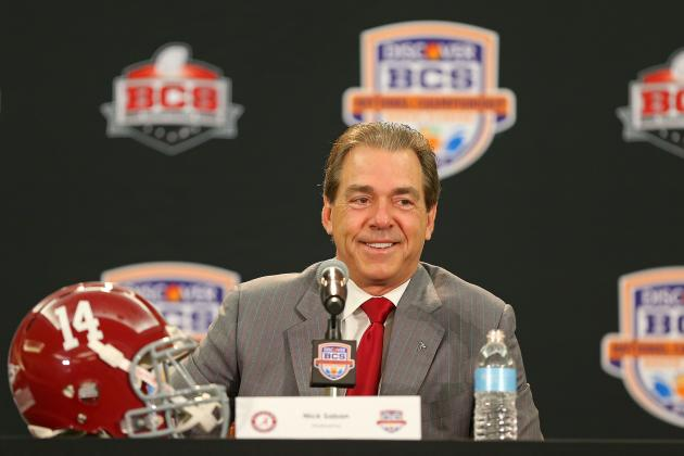 BCS Championship 2013: Win Would Cement Nick Saban as Best Big Game Coach in CFB