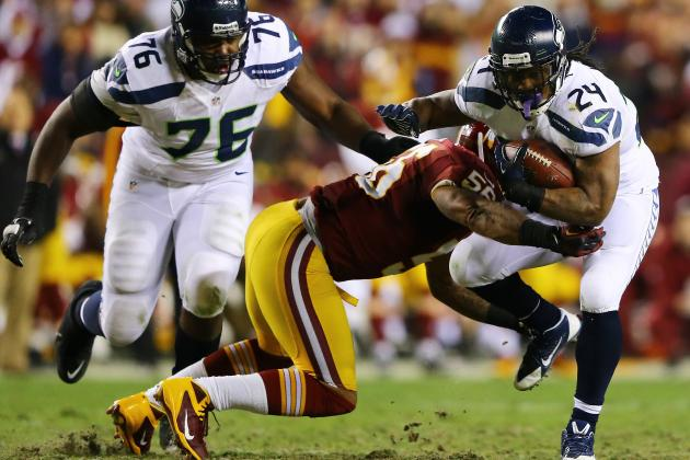 Seahawks vs. Redskins: Marshawn Lynch Is Biggest X-Factor in Super Bowl Run
