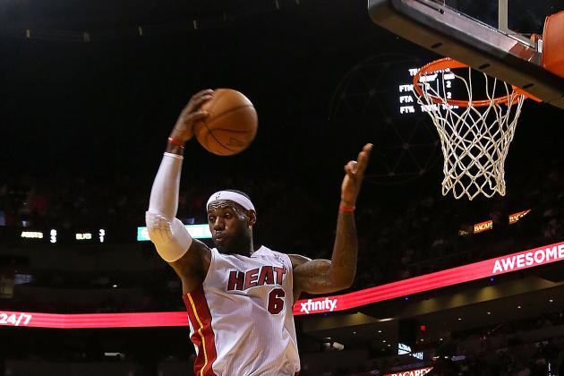 LeBron-Led Heat Rule Boards, Quiet Wizards