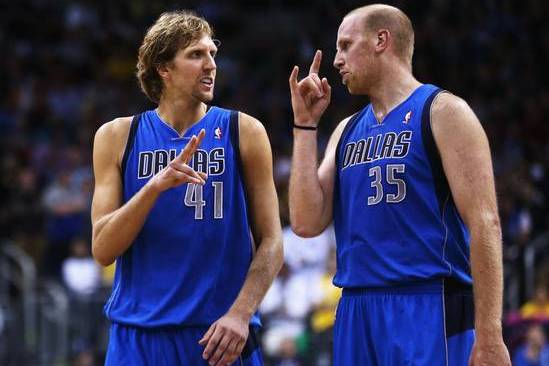 Dirk Nowitzki: 'Chris Kaman and Myself Both Can't Guard Nobody'