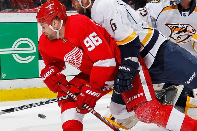 Tomas Holmstrom Expected to Retire Before Season