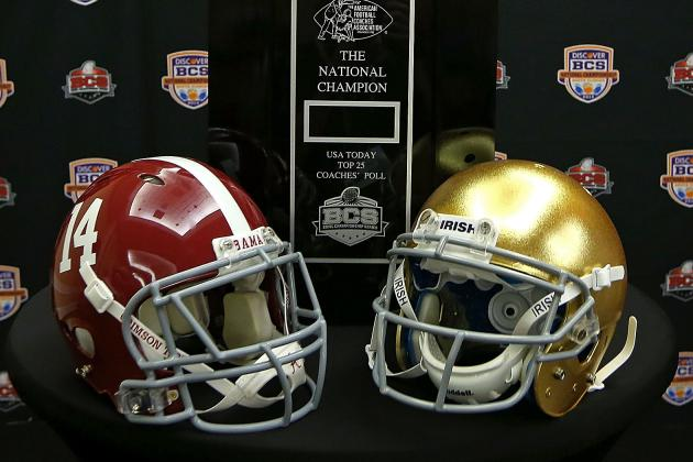BCS National Championship: Notre Dame, Alabama Ready for Classic Matchup