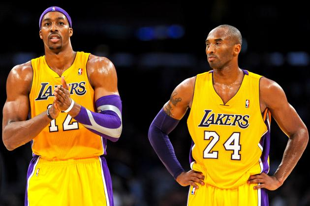 Kobe Bryant and Dwight Howard Reportedly Involved in Heated Exchange