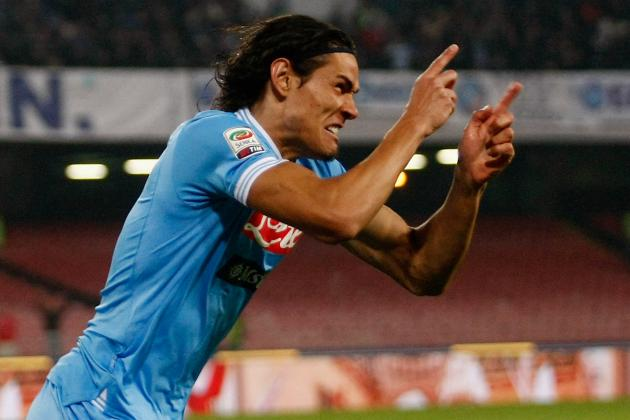 Napoli Warn Manchester City off Striker Edinson Cavani