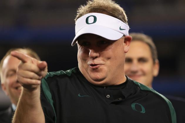 Browns Walk Away from Chip Kelly, Who Later Decides to Stay at Oregon