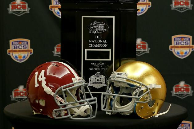 Alabama vs. Notre Dame: BCS Championship Will Fail to Match Insane Hype