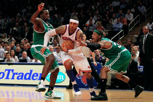 Knicks No Longer Looking Up at Boston Celtics