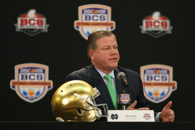 Notre Dame Football: Kelly on NFL: 'I've Got the Best Job in the Country'