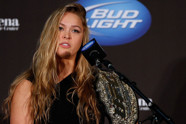 Rumor: Ronda Rousey Could Make More Than $150K in UFC 157 Debut