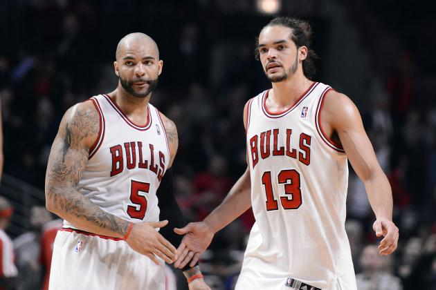 Bulls' Frontcourt Starting to Assert Itself
