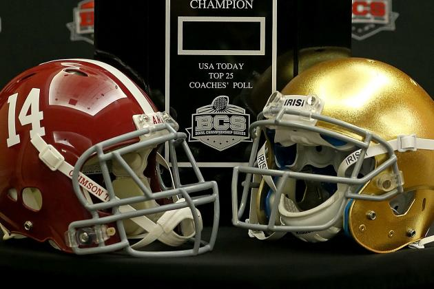Alabama vs Notre Dame Predictions: Last-Minute Gambling Tips for BCS Title Game