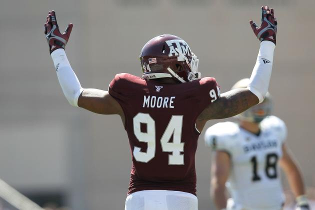 NFL Draft 2013: Ranking Damontre Moore and Top Defensive End Prospects