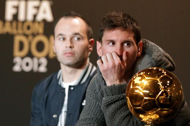 Lionel Messi Wins Historic 4th Consecutive Ballon D'Or