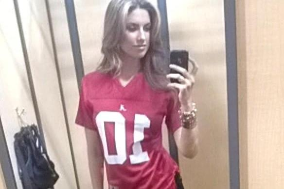 AJ McCarron's Girlfriend Katherine Webb Prepares for Epic BCS Championship Game