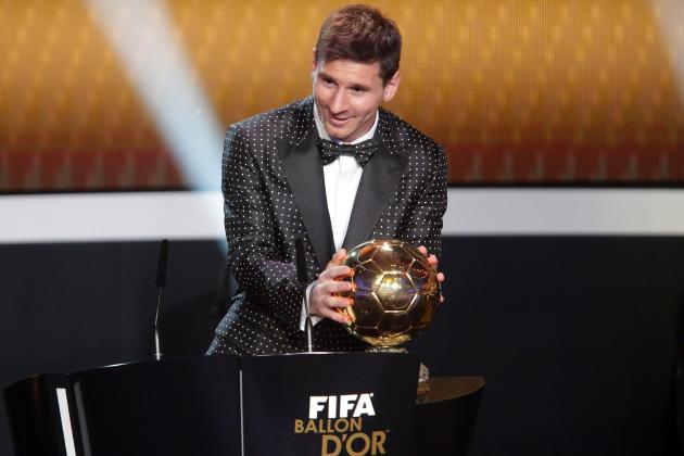 Ballon d'Or Winner 2013: Twitter Reacts to Lionel Messi's Record-Breaking Award