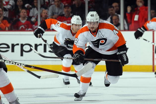 Briere to See Hand Specialist, Questionable for Opener