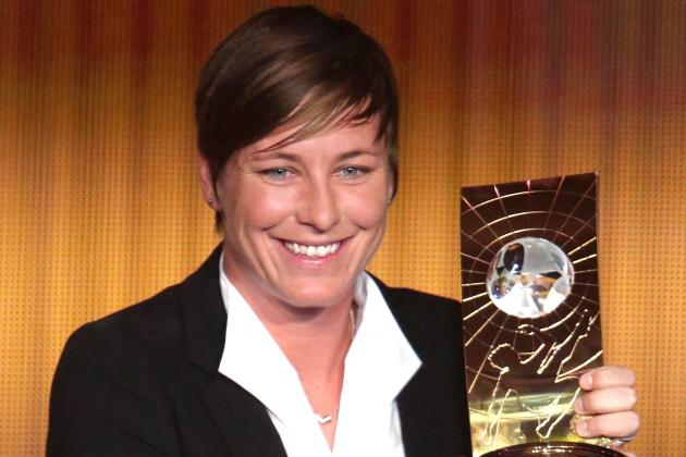 USWNT Star Abby Wambach Wins 2012 Ballon d'Or