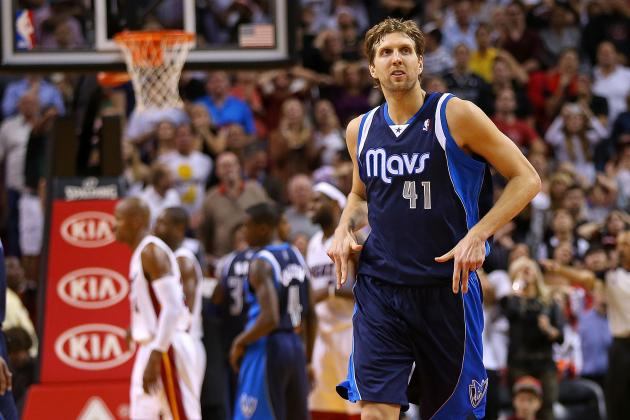 Dirk Nowitzki Not Looking to Be Traded from Mavericks: 'I Never Quit'