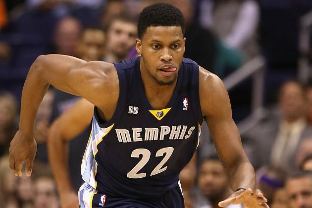 Reports Say Grizzlies Could Trade Rudy Gay
