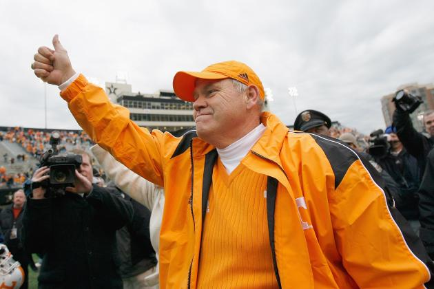 Phillip Fulmer Feels Good About New Vols Coach