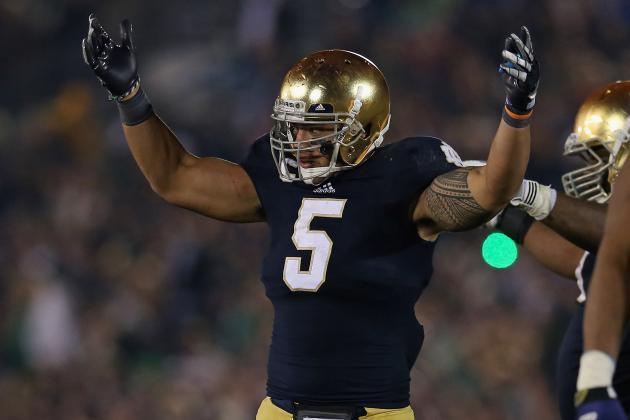 Manti Te'o: Projecting Notre Dame LB's Final Stat Line in Title Game vs. Alabama