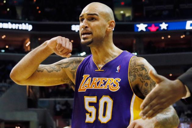 Lakers Call Up Robert Sacre from D-League