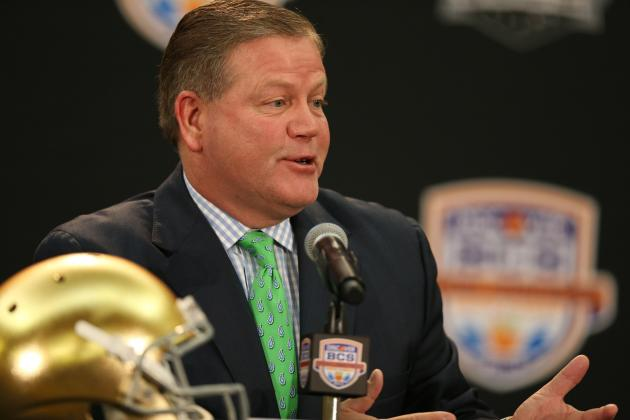 Notre Dame Football: Will Fighting Irish Hold on to No. 1 Recruiting Class?