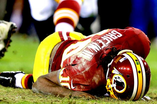 Robert Griffin III Injury: Updates on Redskins QB's Leg