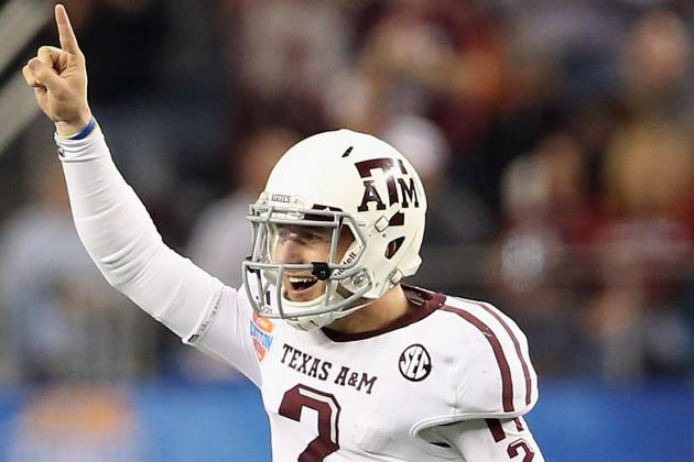 Johnny Manziel: I Can Booze with  My Mama in Texas