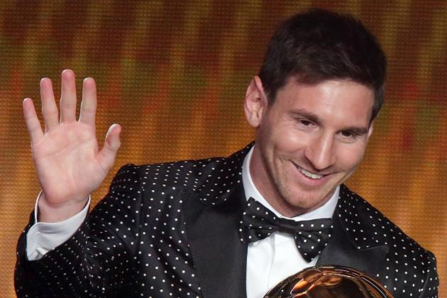 Ballon d'Or 2013: With Fourth Win, Lionel Messi Makes the Case for Best Ever