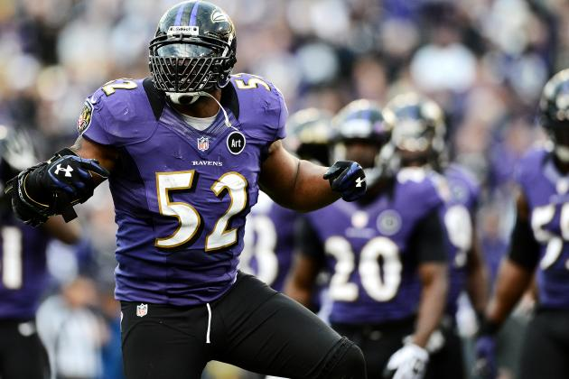 Ray Lewis Did His Dance Not Once, but Twice During Final Home Game