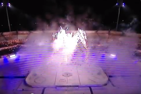 German Hockey League Has Crazy Post-Game Fireworks [Video]