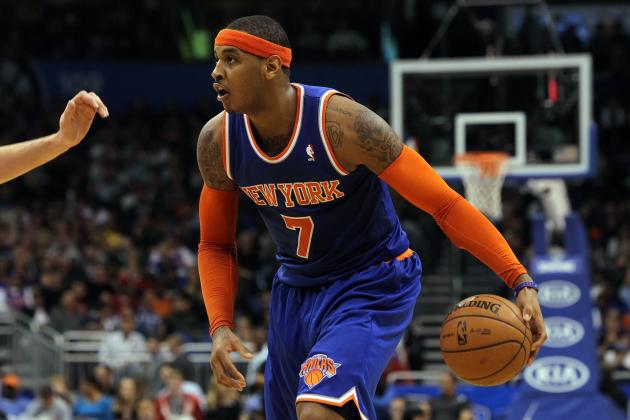 Proving Carmelo Anthony Has Been NY Knicks' Best Player This Season