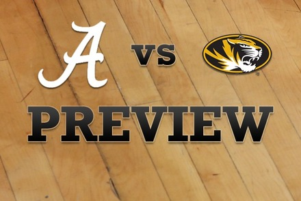 Alabama vs. Missouri: Full Game Preview