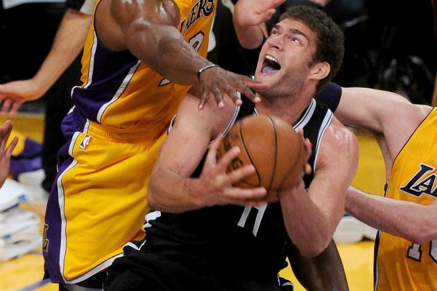 Brook Lopez Says He'll Continue to Ignore Trade Speculation About Dwight Howard