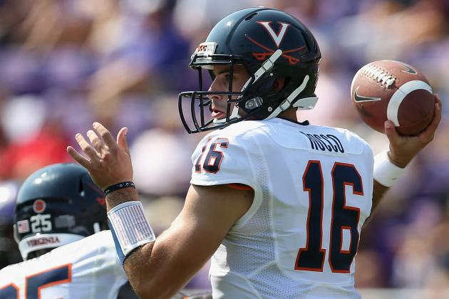 Ex-Virginia QB Rocco Transferring to Richmond