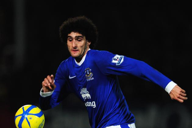 Chelsea Step Up Bid for Marouane Fellaini