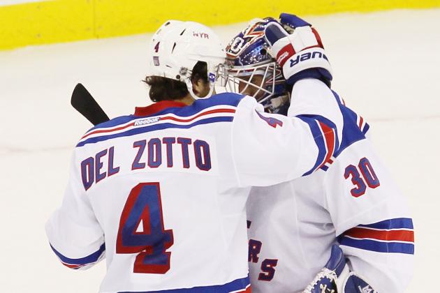 Rangers' Del Zotto Hoping for 'Fair' Deal Soon