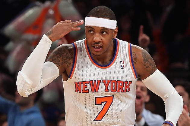 Is Carmelo Anthony a Better Pure Scorer Than Kevin Durant?