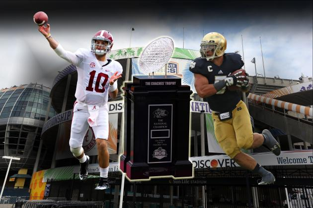Notre Dame vs. Alabama: Live Score, Analysis for 2013 BCS Championship