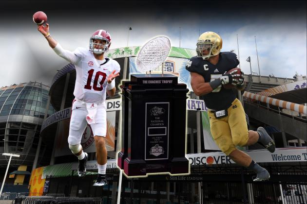 Notre Dame vs. Alabama: Live Score, Analysis for 2013 BCS Championship