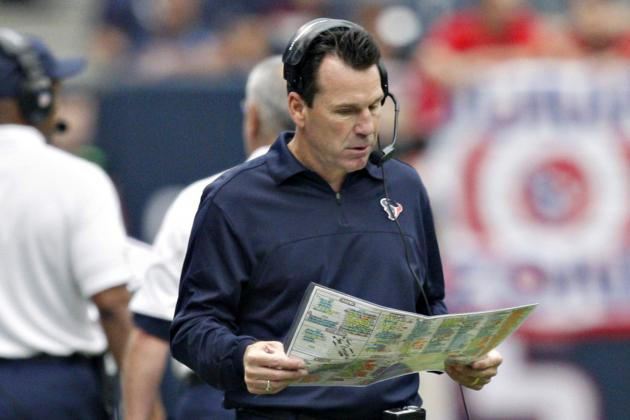 Texans Look to Limit Mistakes Against Patriots