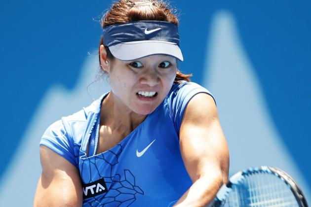Li Na Advances at Sydney International