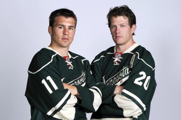 Newly Acquired Parise, Suter Finally Hit Wild Ice