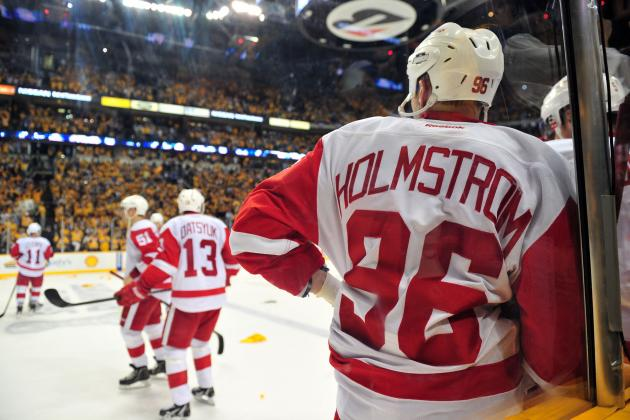 Helene St. James: Red Wings' Tomas Holmstrom Decides to Hang 'em Up