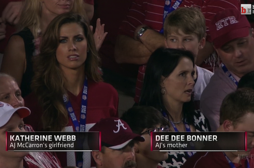 AJ McCarron Girlfriend: Katherine Webb Steals the Show in BCS Championship Game